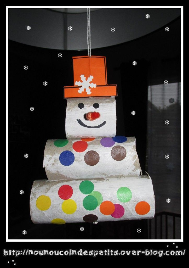 Mobile bonhomme de neige no l hiver pinterest essuie tout bien fait et scotch - Pinterest bonhomme de neige ...