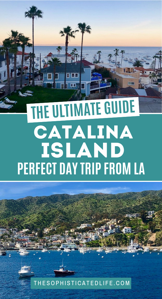 A Catalina Island Day Trip From Los Angeles California Travel