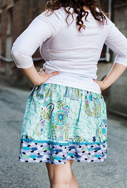 Pachyderm Parade Skirt