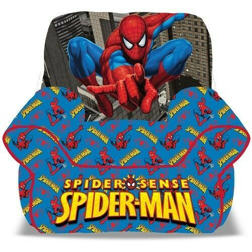 Spider Man Bean Bag Chair Toddler Playroom Furniture