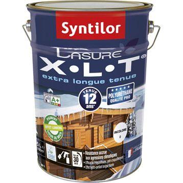 Lasure exterieure XLT SYNTILOR, chene clair, aspect satine, 5 L