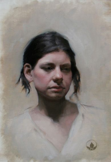 Jennifer Gennari Florence Academy Of Art Portrait Painting