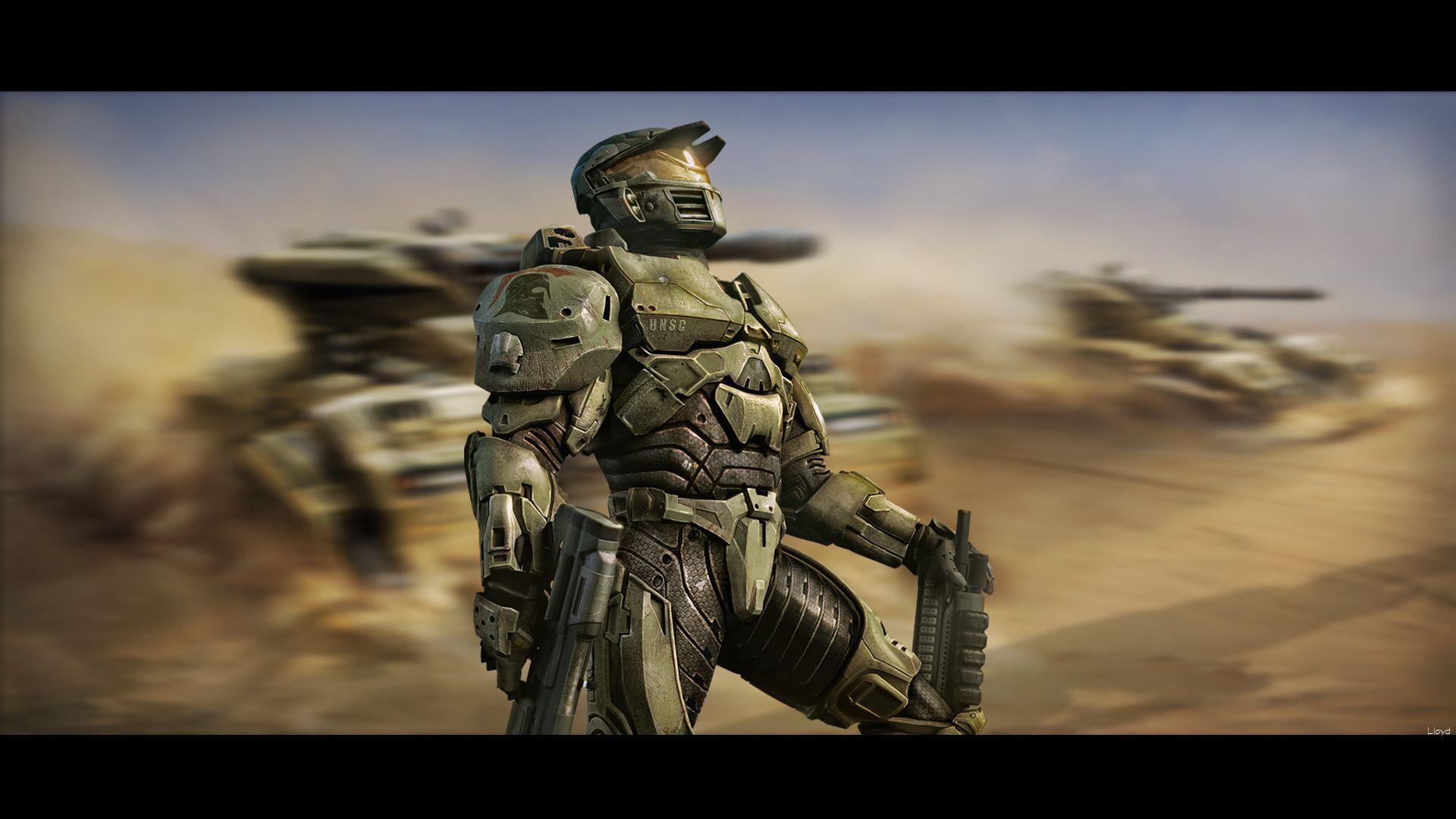 spartan artwork Halo Green Spartan Concept Art HD
