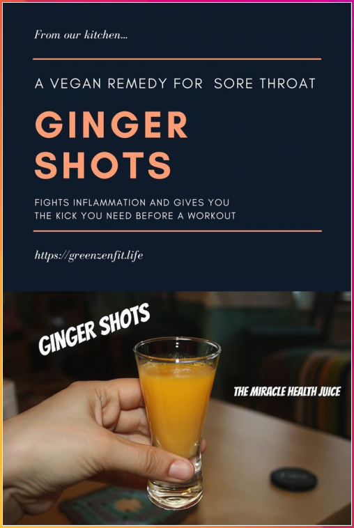 Ginger Shots. Our new miracle health juice. - Green Zen Fit #Ginger #Shots. #Our #new #miracle #health #juice. #Green #Zen #Fit