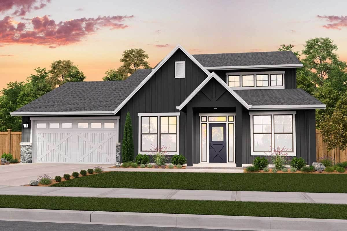 Plan 85252ms Exclusive New American House Plan With