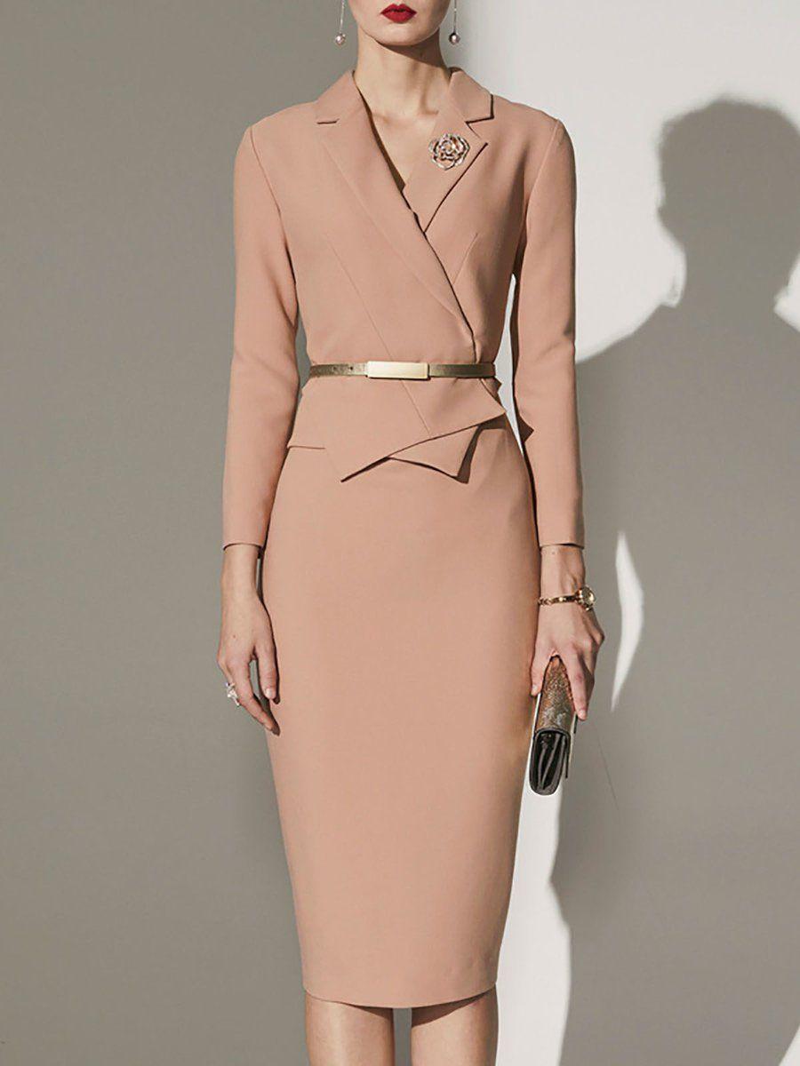 43+ Long sleeve midi dress formal ideas in 2021