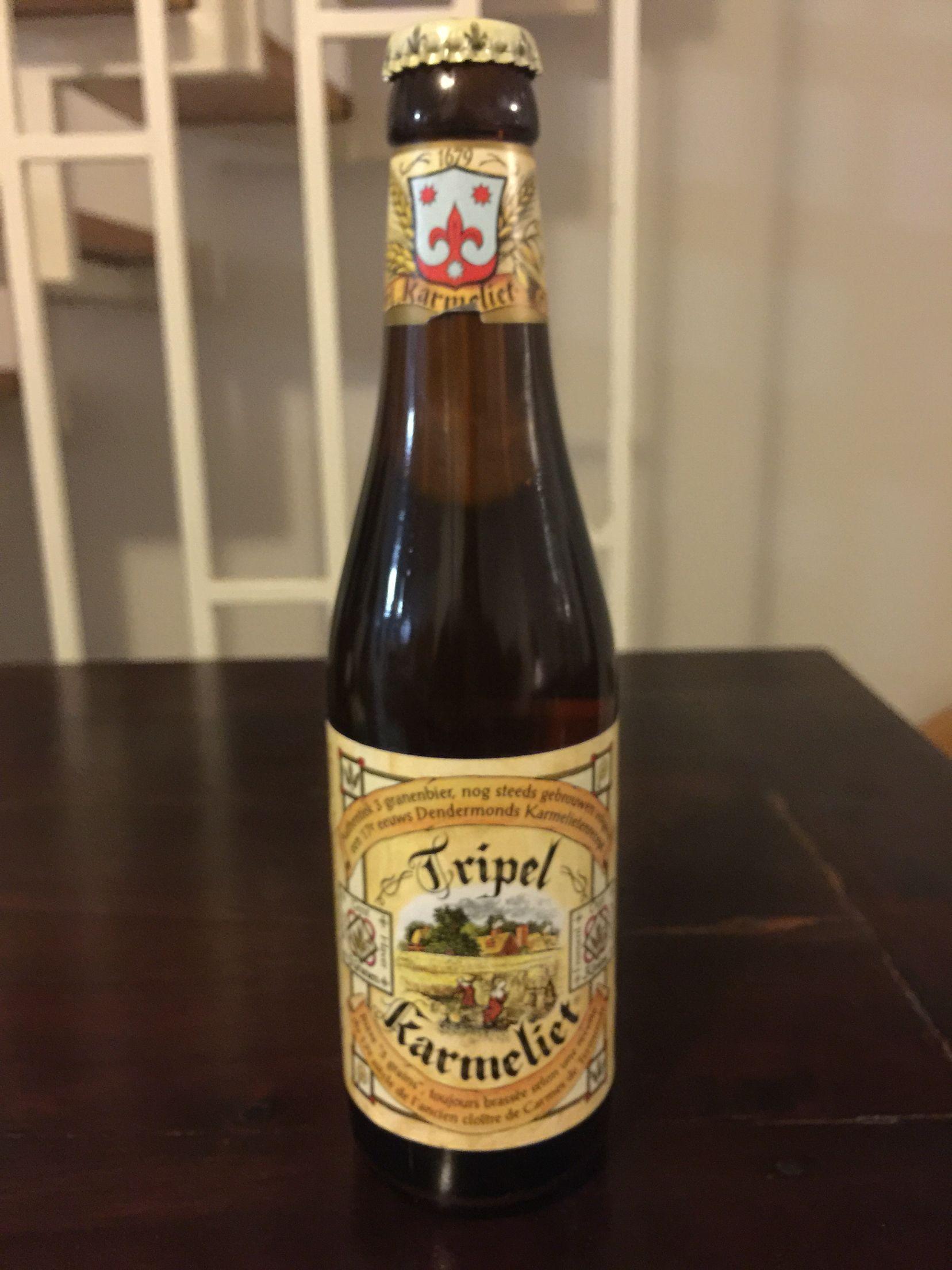 Tripel Karmeliet   Beer bottle, Beer glasses, Beer