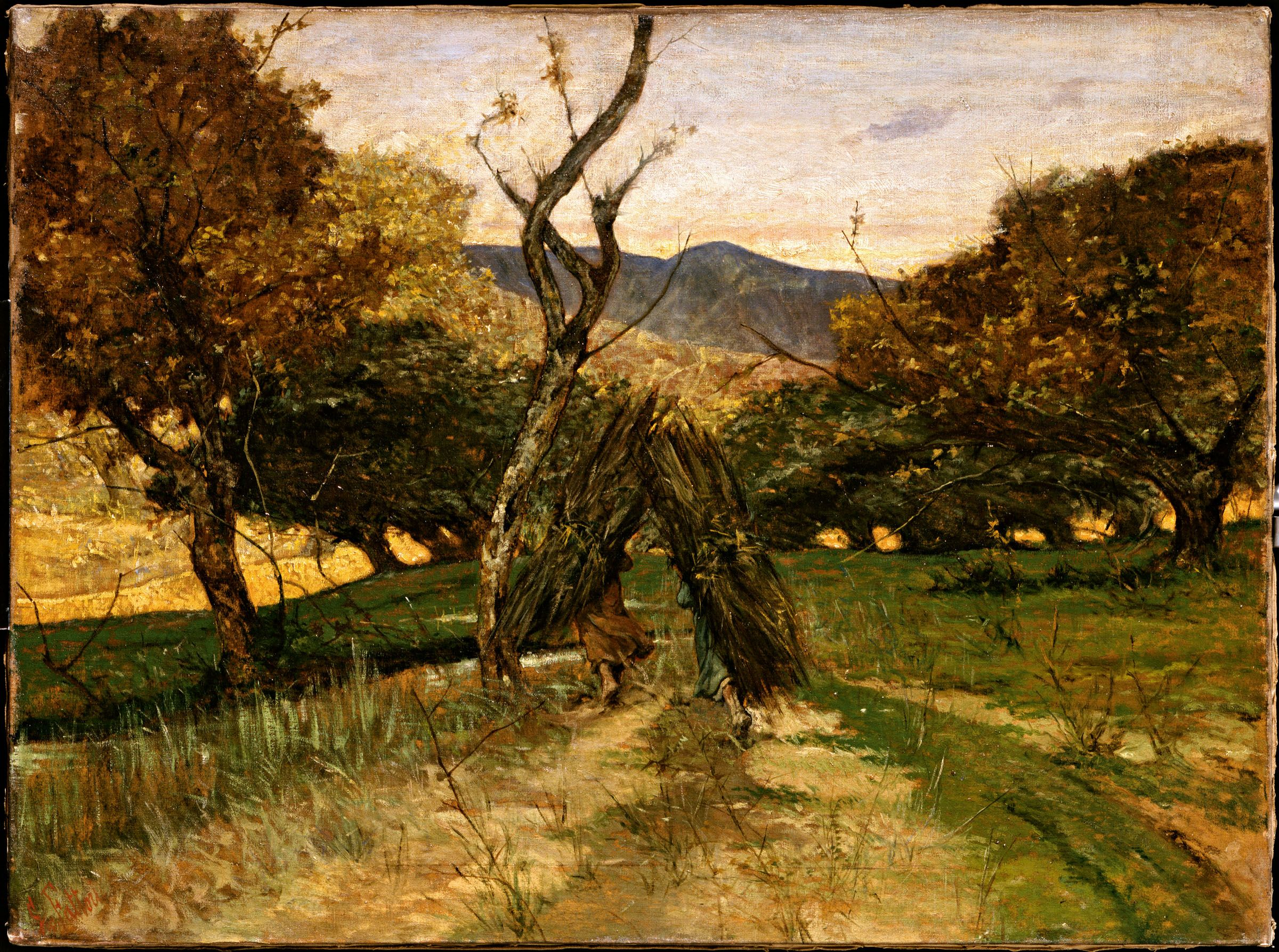 Giovanni Fattori Plein Air Landscape Landscape Paintings Landscape