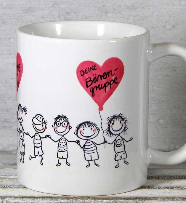 Erzieherin kinderg rtnerin abschied geschenk tasse for Geschenk erzieherin