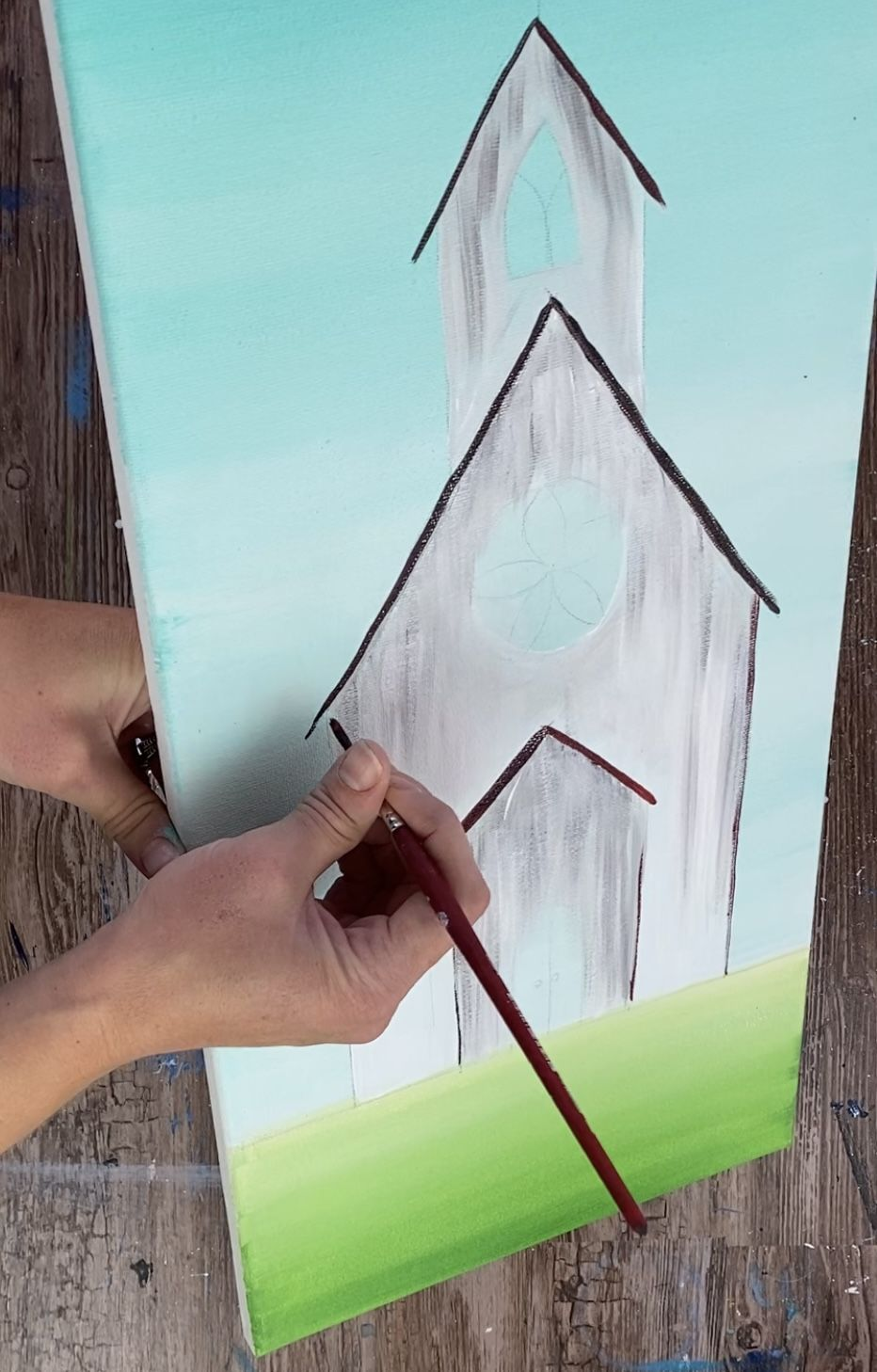 No Frame 20 x 16 DIY Canvas Painting for Adults /& Kids FAVOREADS Paint by Numbers Kit: Puppy Welcomes You Home Pre-Printed Canvas 3 Brushes /& Acrylic Paints in a Gift Package