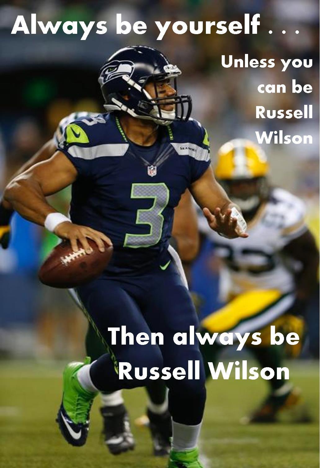 Be Russell Wilson...  #Seahawks  #GoHawks  #SuperbowlXLVIII