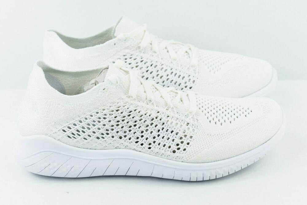 Womens Nike Free RN Flyknit 2018 Size 5 Running Shoes Triple