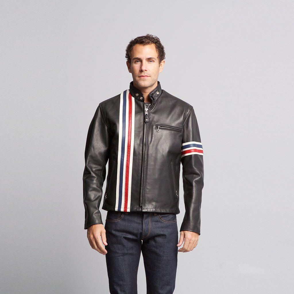Schott Easy Rider Mens Leather Motorcycle Jkt