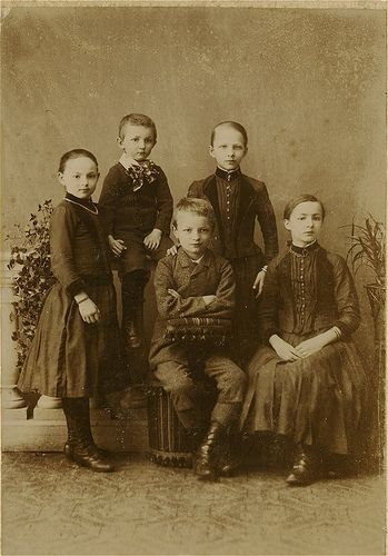 Antique Photo Album: Children by Antique Photo Album, via Flickr