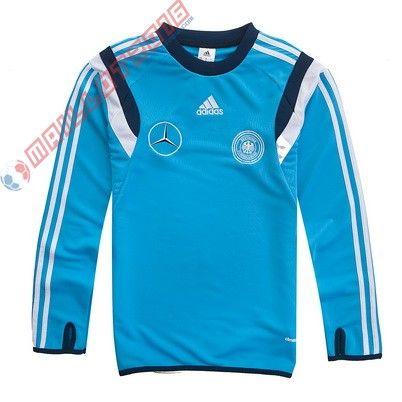 Training De Nouveau Bleu Adidas Allemagne Veste Survêtement 2016 00qrBzwx