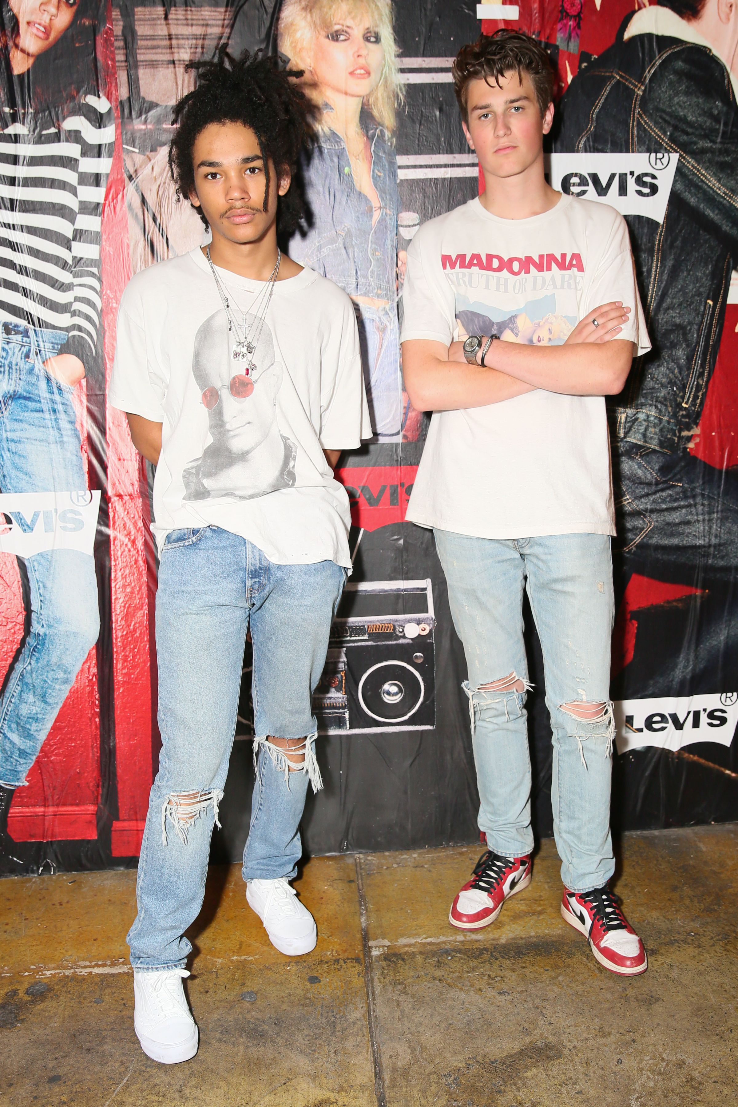 Luka Sabbat And Jonah Levine Look Great In Their 505c Jeans To Our