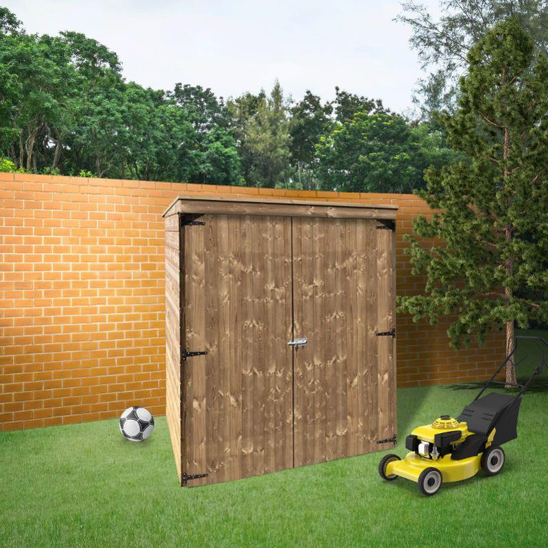 Abri De Rangement 1 6m Modern Storage Longueur 0 90 M