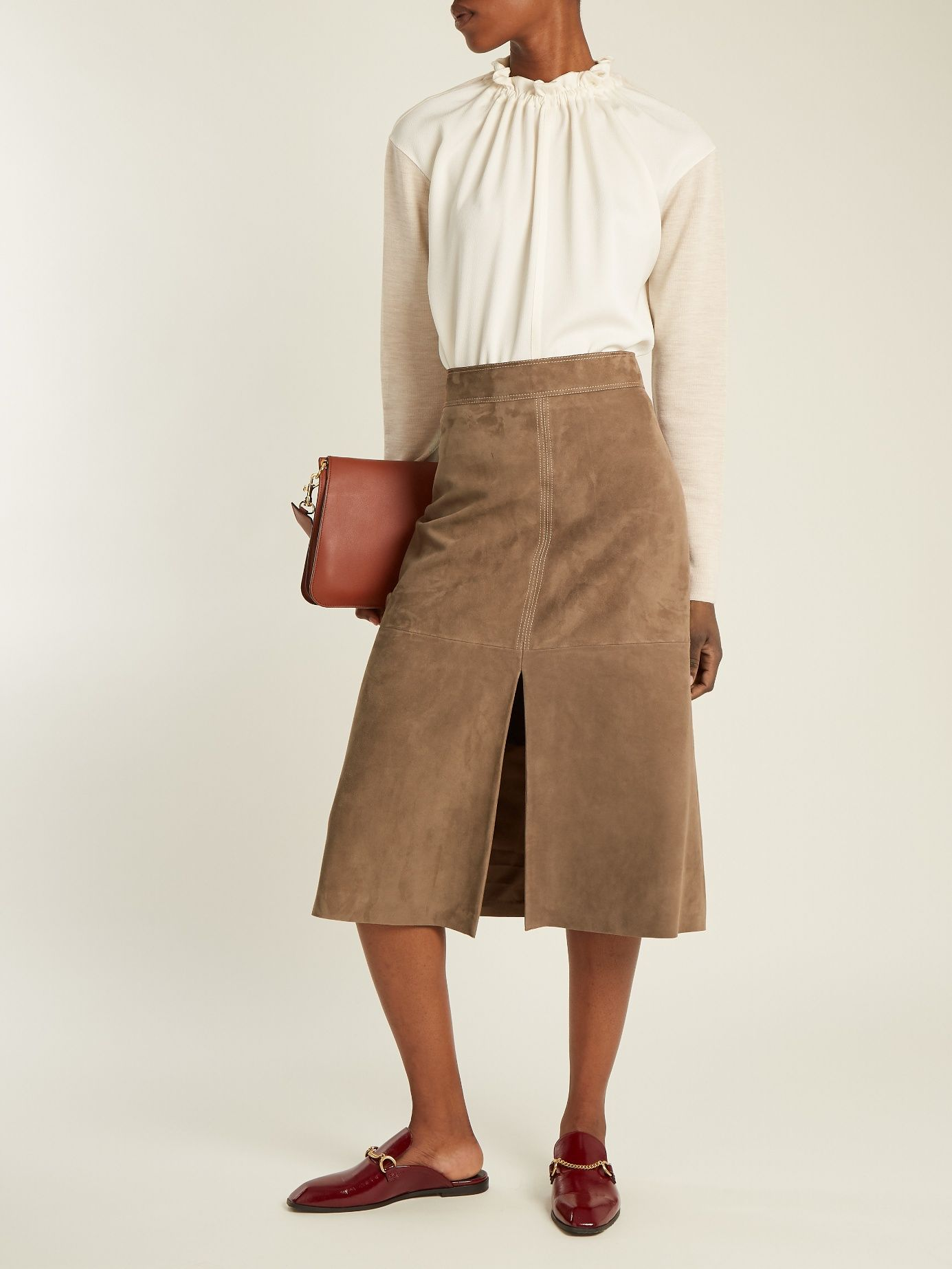 202a48f46704 Click here to buy Weekend Max Mara Zadar skirt at MATCHESFASHION.COM ...