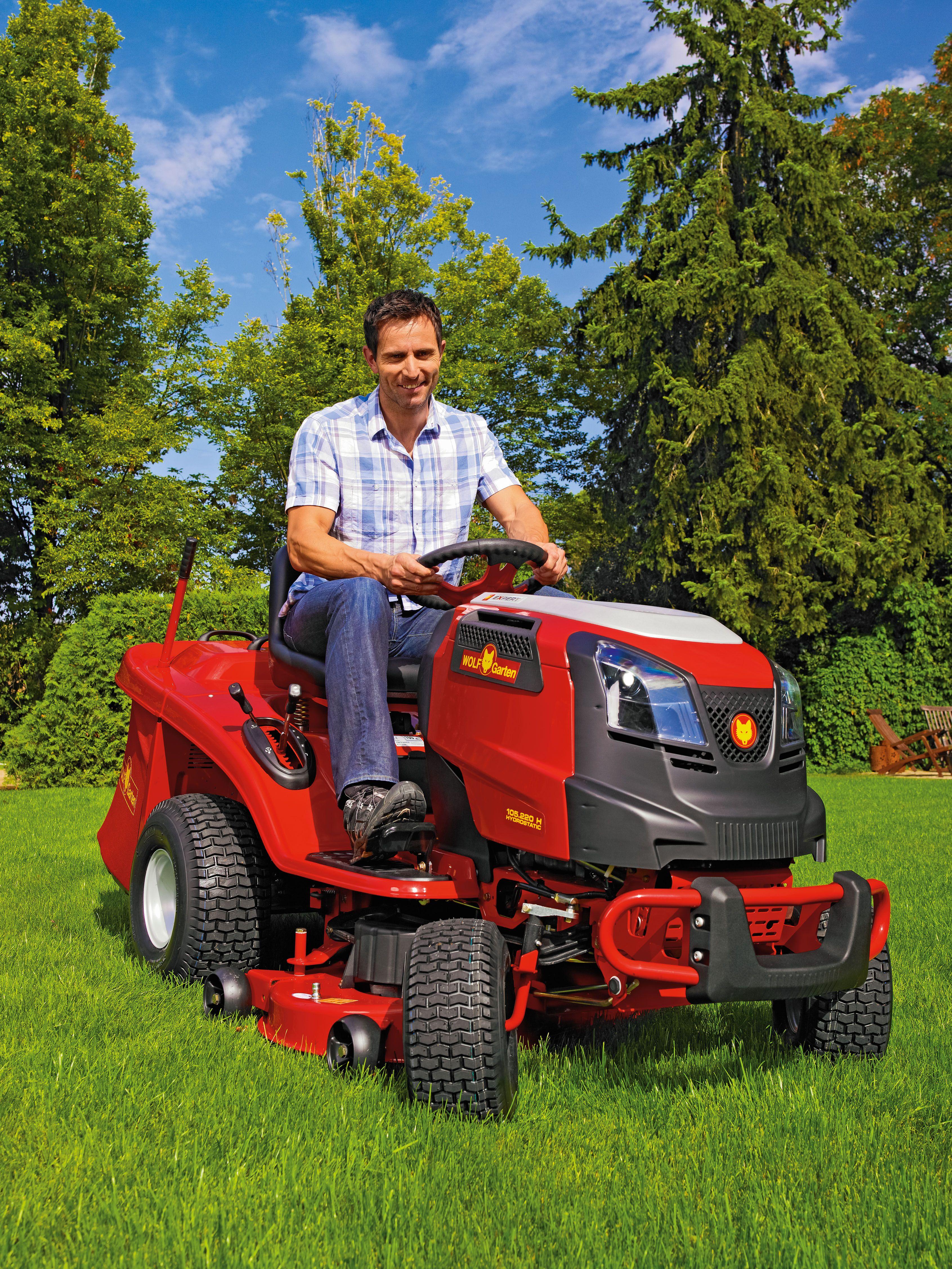 Blue Power 105 200h Lawn Tractor 4 Best Lawn Mower Lawn Tractor Lawn Mowers