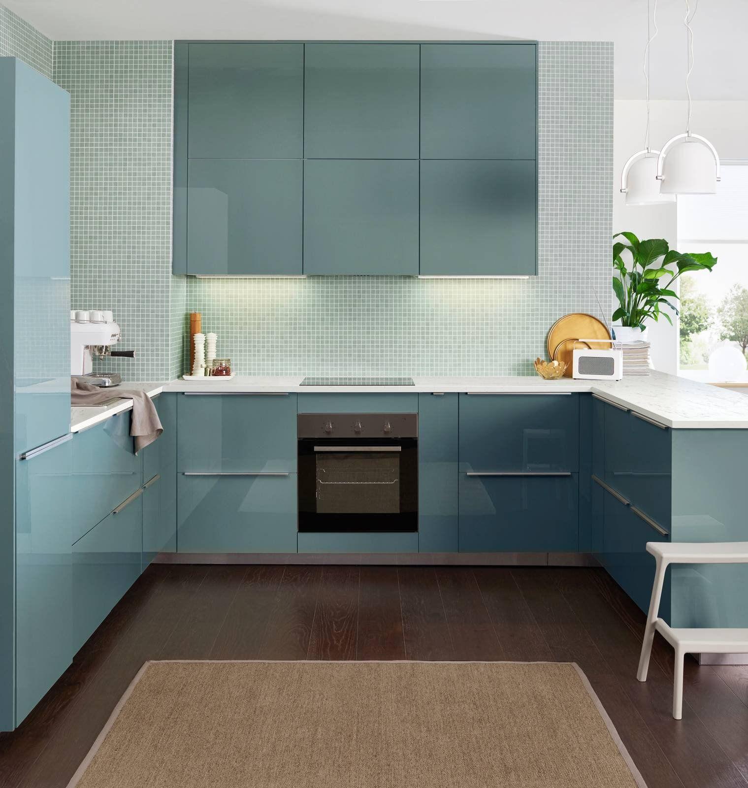 Ambienti Ikea Cucina la cucina a u: raccolta, ergonomica, funzionale nel 2020