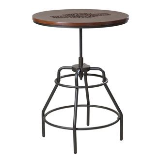 Wondrous Hdl 12320 Harley Davidson Way Of Life Bar Table Caraccident5 Cool Chair Designs And Ideas Caraccident5Info