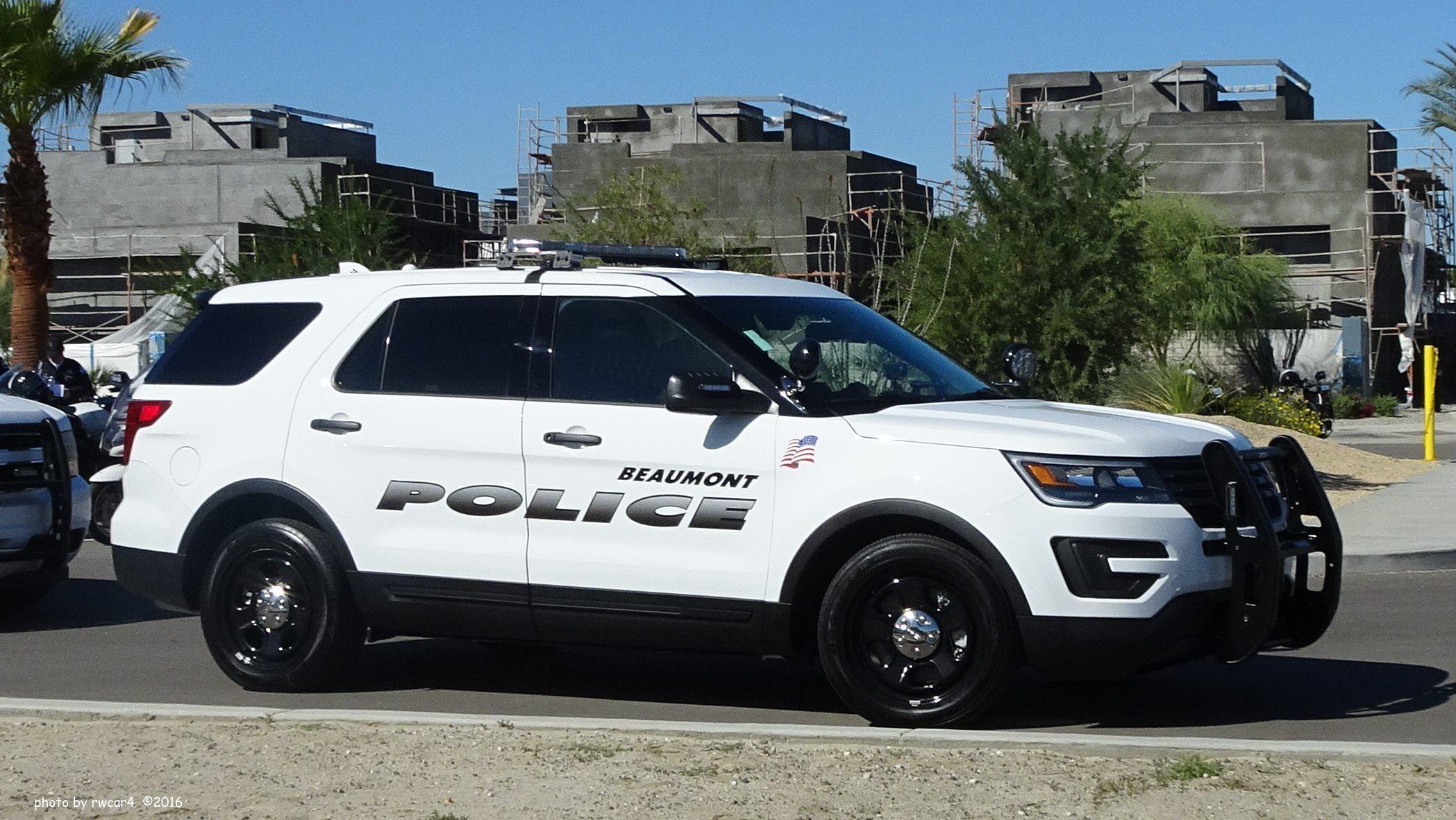 Ca Beaumont Police Dept Police Police Cars Police Dept