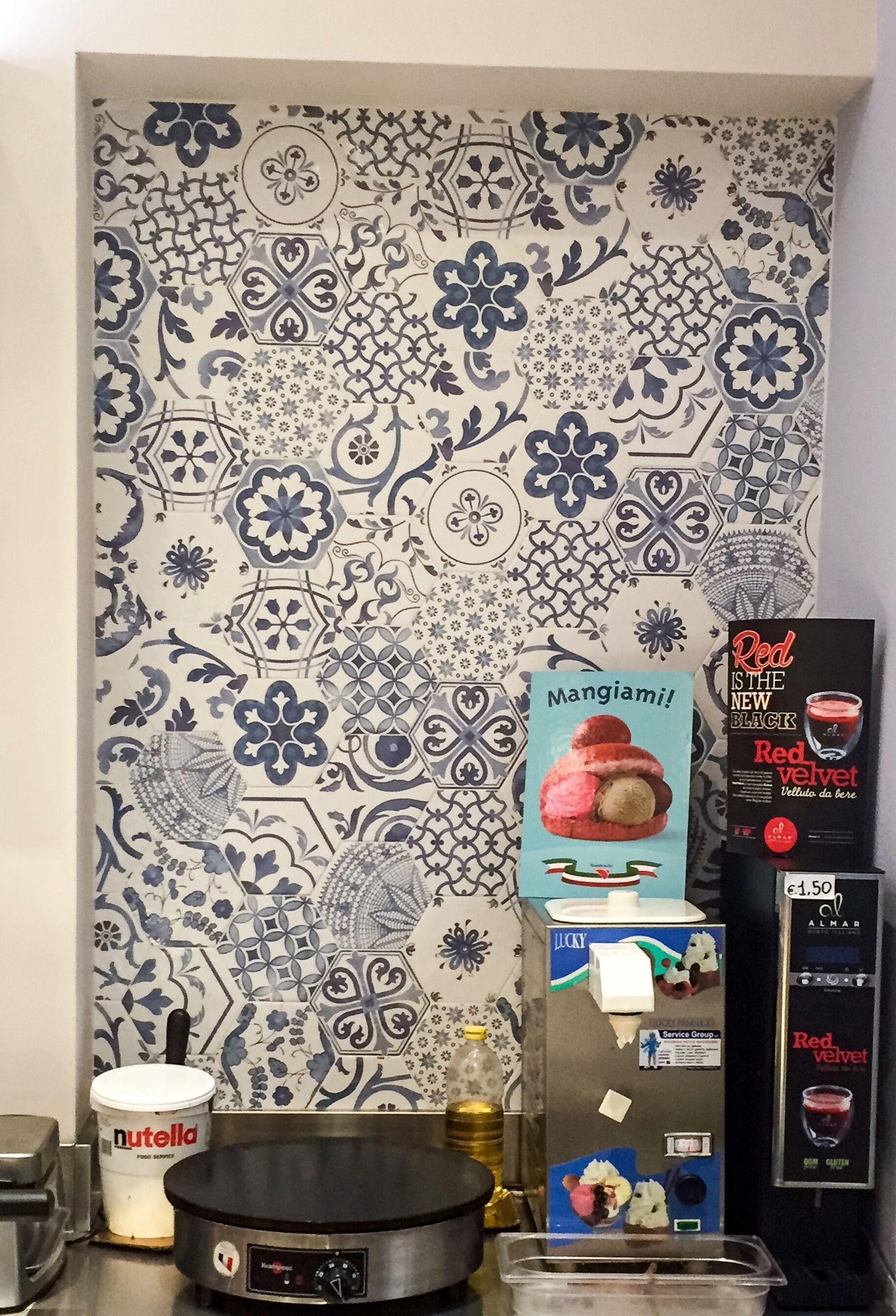 Decorative Tiles South Africa Piastrelle Esagonali Tonalite Della Collezione Exabright Decoro