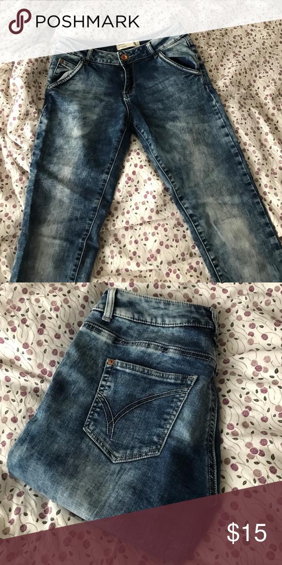 Comfy denim pants Soft denim tie dye feel - super comfy Cotton On Pants