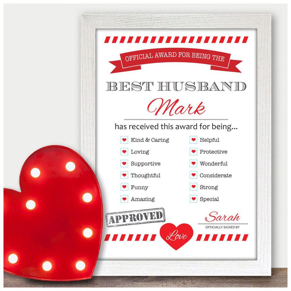 1st Wedding Anniversary Gift Ideas for Husband Him