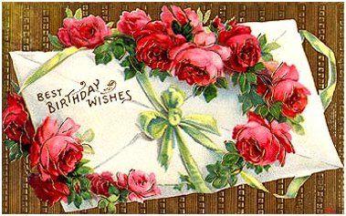 Victorian Birthday Cards Vintage Birthday Cards Birthday Postcards Vintage Birthday
