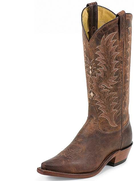 f3e7f941a6c Tony Lama El Paso Collection Peanut Saigets Worn Goat 1797-L Women ...