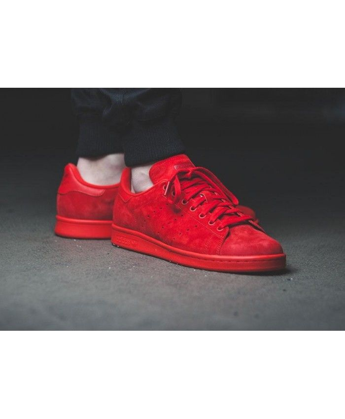 Originals Stan Smith All Red Trainers
