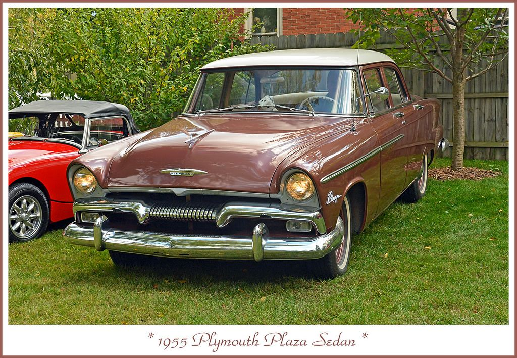 1955 Plymouth Plaza - Very Rare | Plymouth, Car photos and Cars