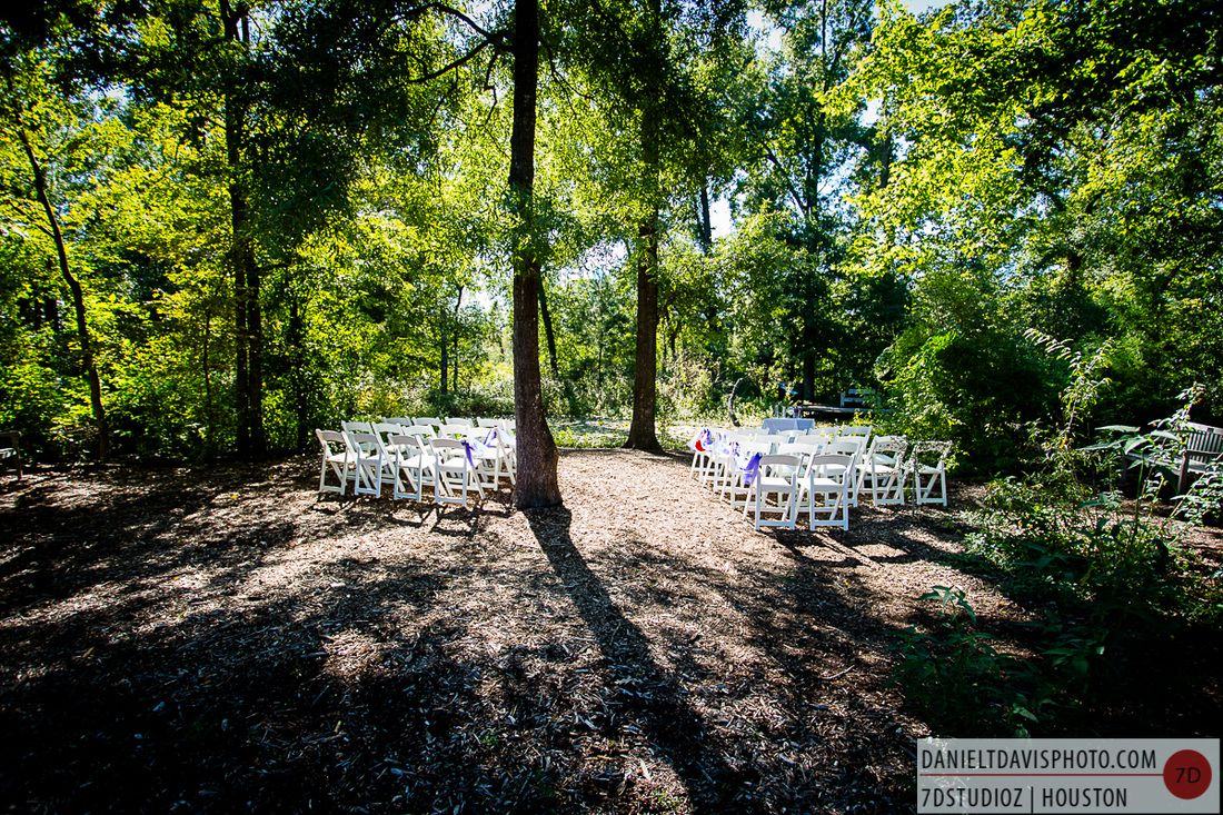 Houston Arboretum Outdoor Wedding In Nature Weddings At The Pinterest And