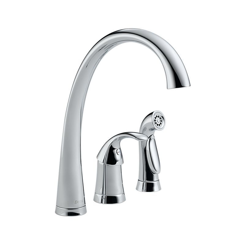 4380 Dst Pilar Single Handle Kitchen Faucet With Spray Kitchen