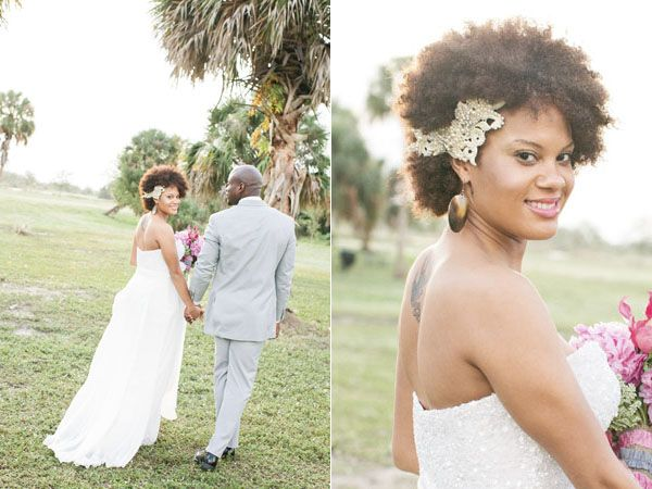 More natural black wedding hairstyles to lead you towards hair ...