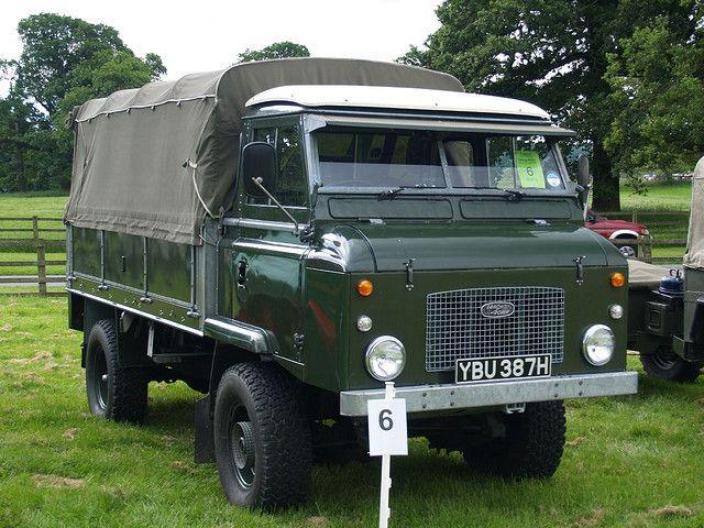 Land Rover Truck >> Land Rover Forward Control Series Iib 110 Army Truck 1969