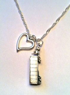 Sterling Silver Love My Trucker Necklace Truck by GetUrShineOn, $65.00