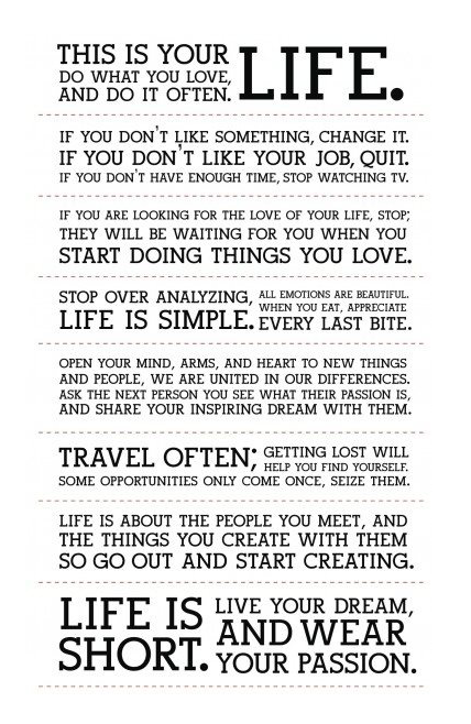This Is Your Life Quote Mesmerizing Iphone Or Android Life Is Short This Is Your Life Quote
