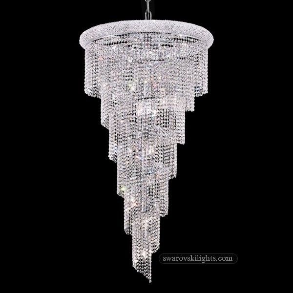 387002 Staircase Crystal Chandeliers Zhongshan Sunwe Lighting Co Ltd We Specialize In Making Swarovski Cha