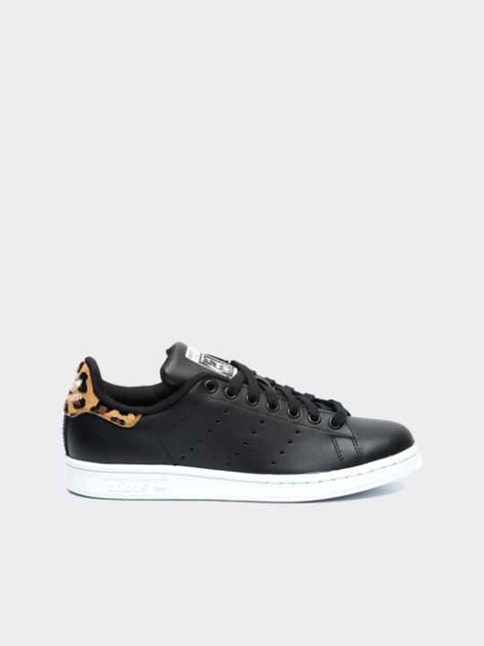Adidas stan smith zwart panter print | Dames Sneakers | Alta