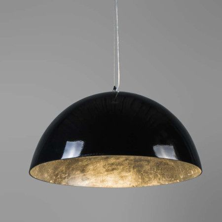 Pendant Lamp Magna Glossy 55cm Black And Silver Pendant Lamp Lamp Pendant Light
