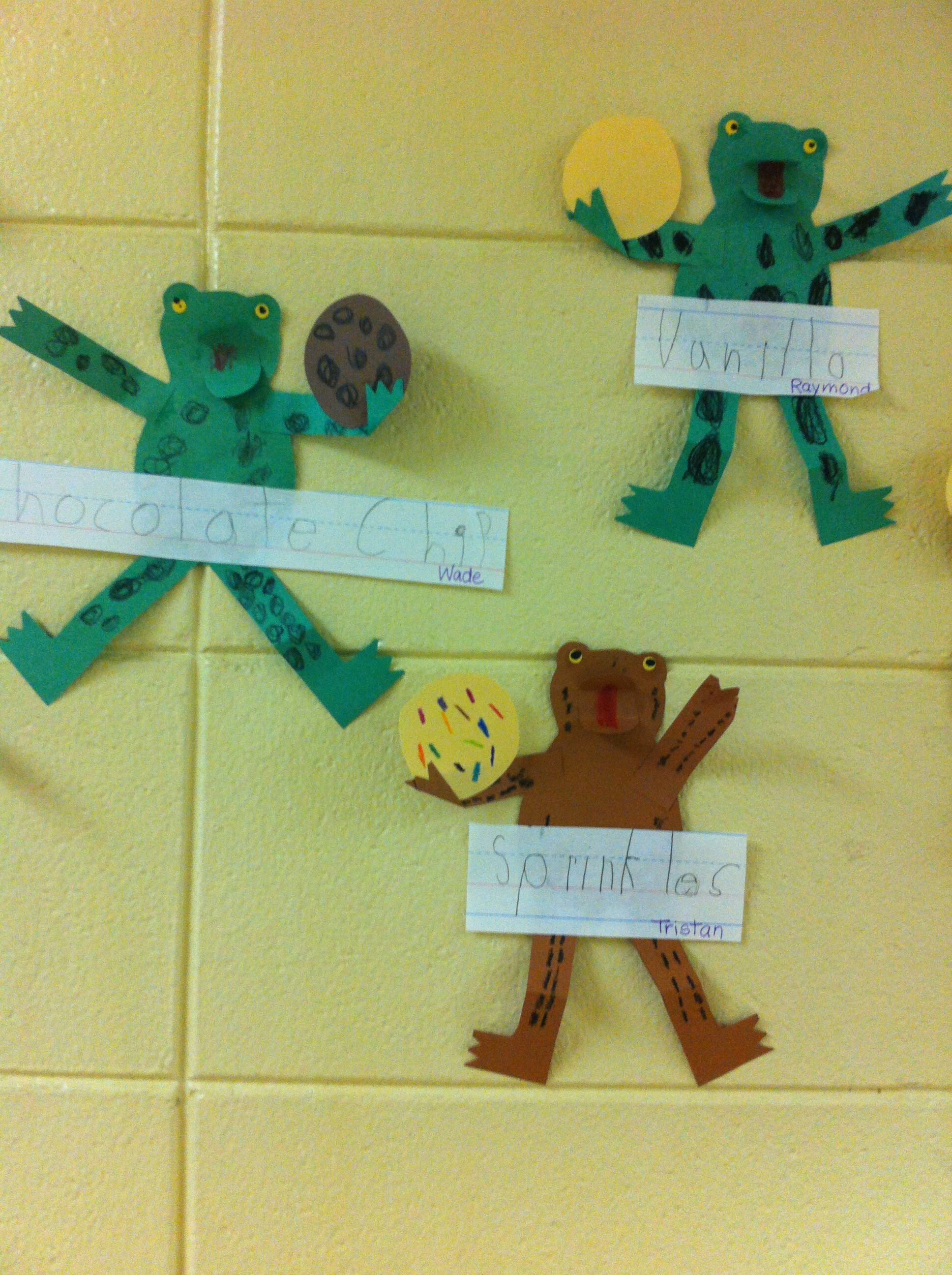 Kindergarten Writing Activity To Go With Cookies Story