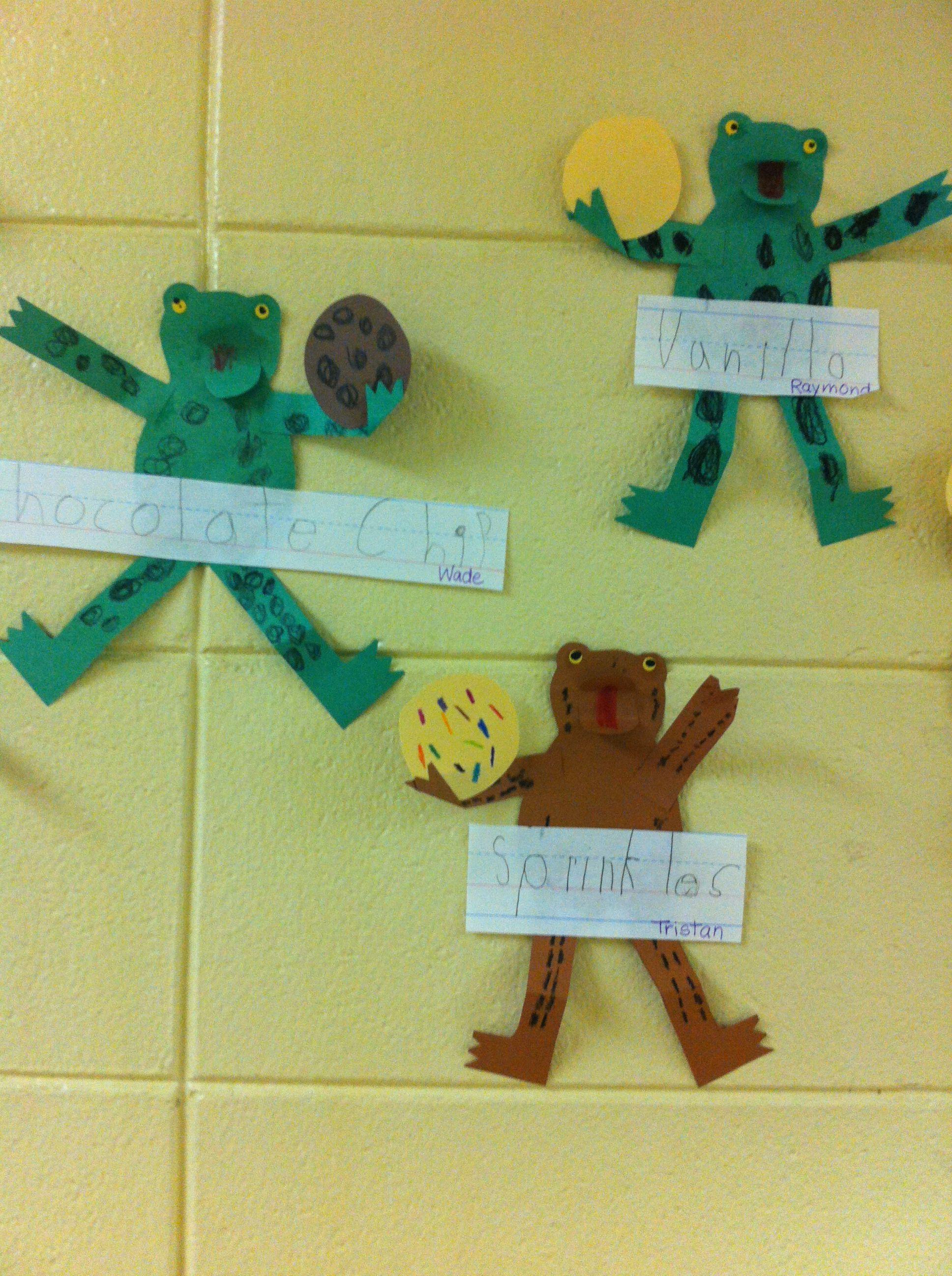 Kindergarten Writing Activity To Go With Cookies Story