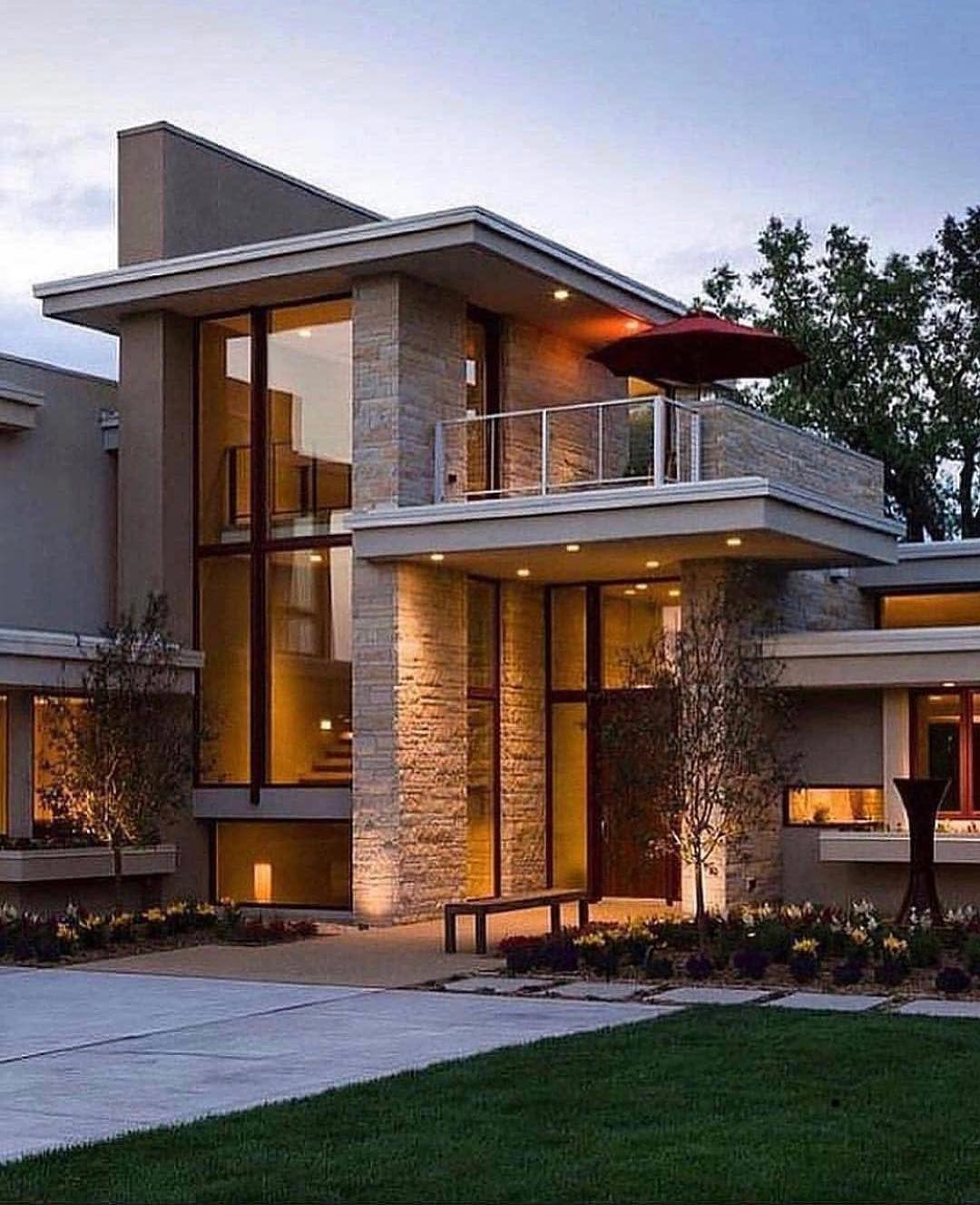 Pin Di Small Modern House