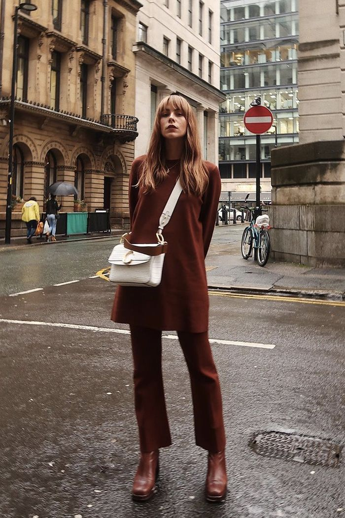 With This Clever Styling Move, You Can Wear Your Summer Dresses for Longer #thingstowear