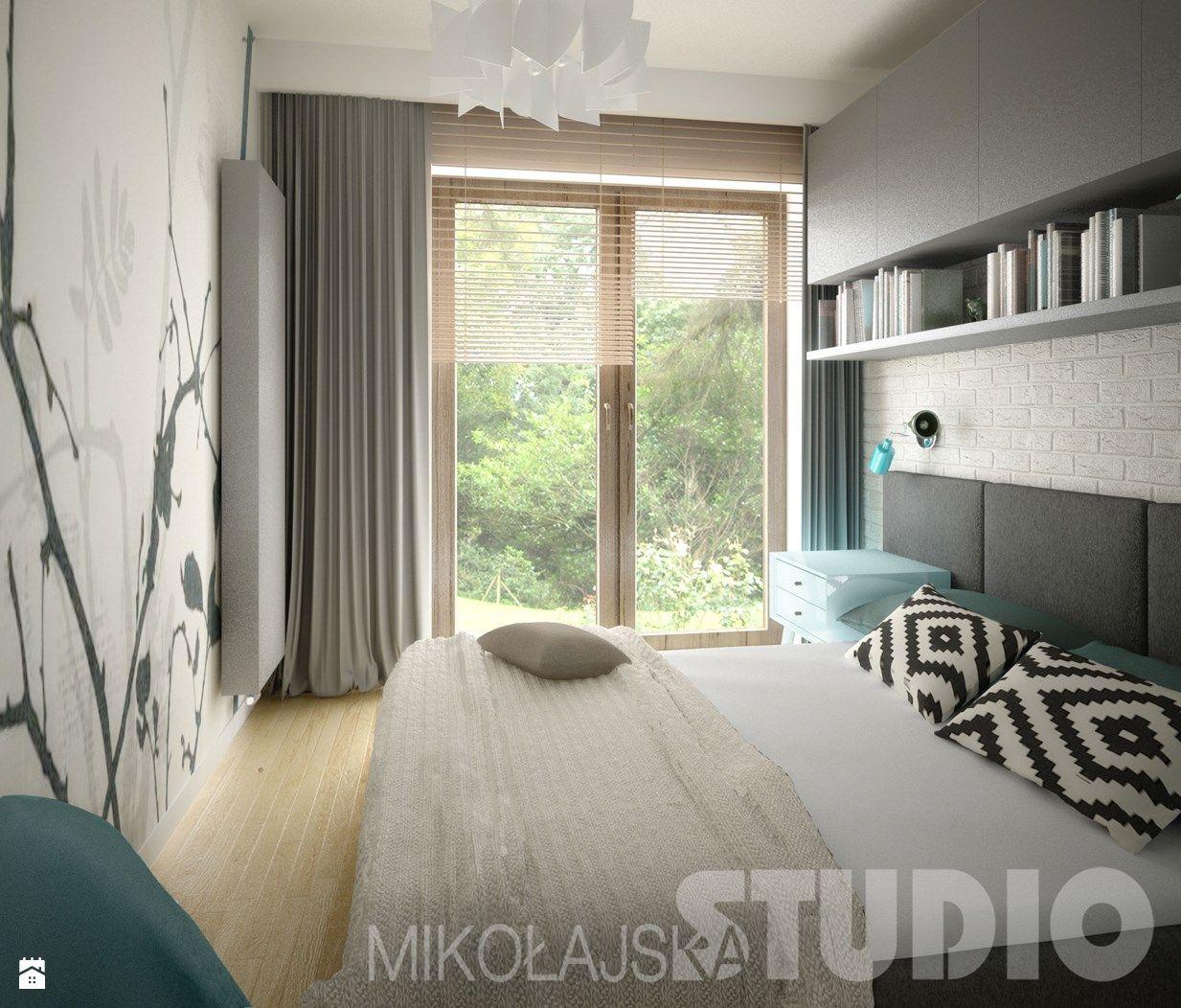 D Interiors Mała Sypialnia: Zdjęcie Od MIKOŁAJSKAstudio