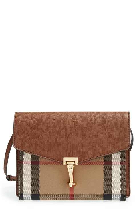 ec97102bd79 Burberry 'Small Macken' Check Crossbody Bag | Fashion | Burberry ...