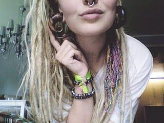 dreads.... gauges.... septum....
