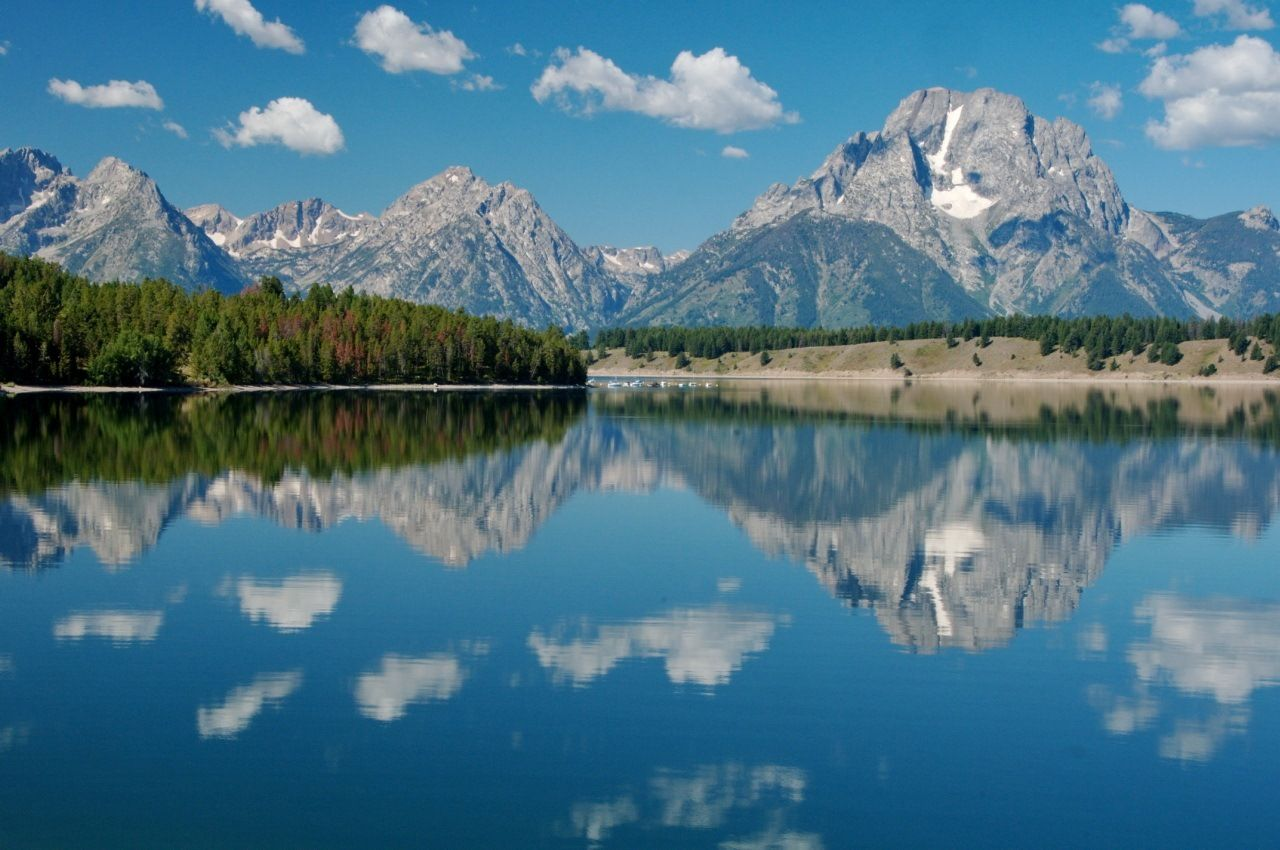 Jackson Lake  Grand Teton National Park  Wyoming. I think a family vacation to the North Midwest should be in the planning!